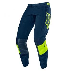Pantaloni FOX 360 Bann Navy/Yellow Fluo