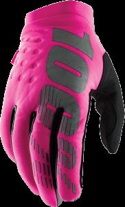 Manusi Dame 100% Brisker  Black/Pink