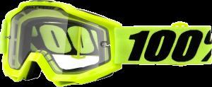 Ochelari 100% Accuri Fluo Yellow Enduro Mirror