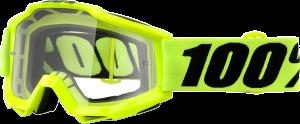 Ochelari 100% Accuri Fluo Yellow OTG Mirror