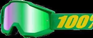 Ochelari 100% Accuri Forrest Mirror Green Lentila
