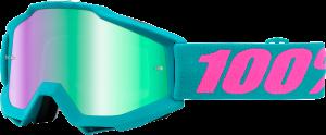 Ochelari 100% Accuri Passion Mirror Green Lentila