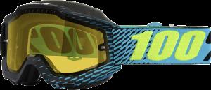 Ochelari 100% Accuri R-Core Snow Yellow Mirror