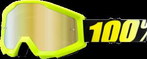 Ochelari 100% Strata Neon Yellow Gold