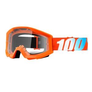 Ochelari 100% Strata Orange Clear Lens