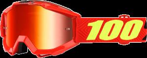 Ochelari copii 100% Accuri Saarinen Mirror Red Lentila