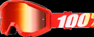 Ochelari copii 100% Strata Furnace Red Mirror