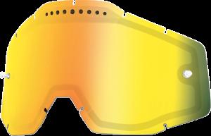 Lentila ochelari 100% dubla super-ventilata Mirror Gold