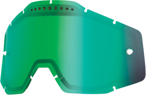 Lentila ochelari 100% dubla super-ventilata Mirror Green