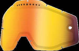 Lentila ochelari 100% dubla Super-Ventilata Mirror Red