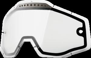 Lentila ochelari 100% Dubla Ventilata Clara