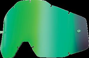 Lentila ochelari 100% Green Mirror