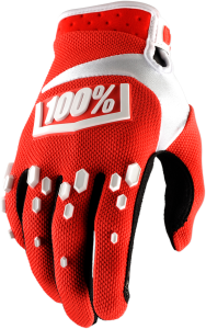 Manusi 100% Airmatic Red\White