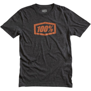 Tricou 100% Essential Charcoal/Bronze
