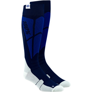 Sosete 100% Performance Hi-Side Navy/White
