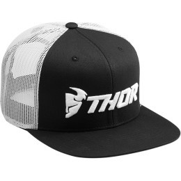 Sapca Thor Trucker Black/White