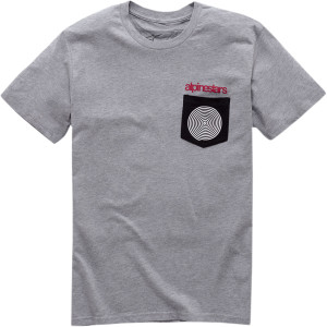 Tricou ALPINESTARS Pocket Spiral Gray