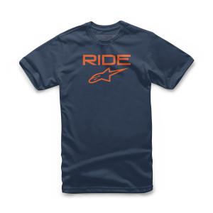 Tricoui copii ALPINESTARS Ride 2.0 Navy/Orange