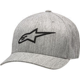 Sapca ALPINESTARS Ageless Curve Heather Gray/Black