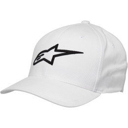 Sapca ALPINESTARS Ageless Curve White/Black