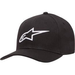 Sapca ALPINESTARS Ageless Curve Black/White