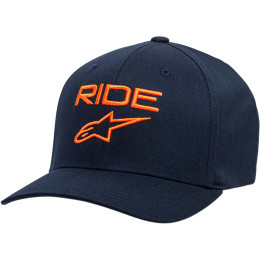 Sapca ALPINESTARS Ride 2.0 Navy/Orange