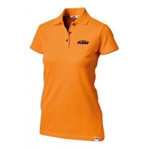 Tricou dama KTM RACING Polo Orange