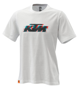 Tricou KTM Radical Logo White