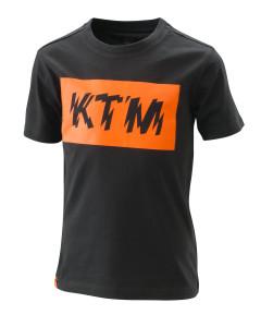 Tricou copii KTM Radical Logo Black