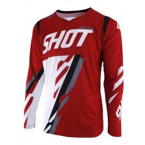 TRICOU SHOT SCORE RED WHITE