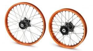 "Set roti Factory 21"" si 19"" portocalii KTM"