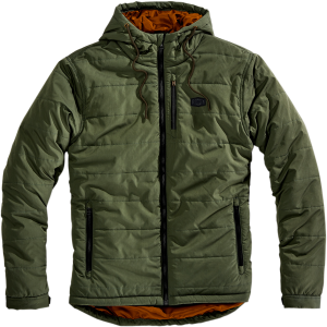 Geaca 100% JUKKA Green/Orange
