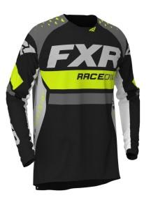 Tricou FXR Revo MX Hi Vis/Black/Char/White