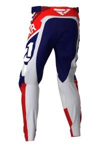 Pantaloni FXR Podium MX Navy/White/Red/Maroon