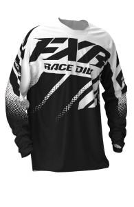 Tricou FXR Clutch MX Black/White