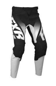 Pantaloni FXR Clutch MX Black/White