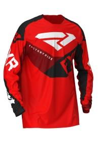 Tricou copii FXR Clutch Red/Black/Maroon