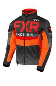Geaca FXR Cold Cross RR Red/Black/Orange/Char