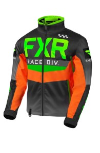 Geaca FXR Cold Cross RR Lime/Black/Orange/Char