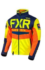 Geaca FXR Cold Cross RR Hi Vis/Navy/Orange
