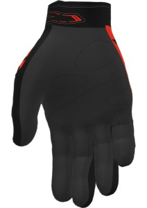Manusi FXR Factory Ride Adjustable MX Glove Nuke Red/Black