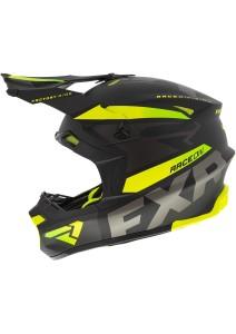 Casca Snowmobil FXR Blade Force Black/Charcoal/Hi Vis