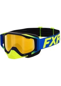 Ochelari Snowmobil FXR Core Hi Vis/Blue