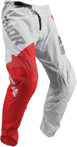 Pantaloni Copii Thor Sector Shear Light Gray/Red
