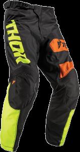 Pantaloni Copii Thor Pulse Savage - Big Kat Black/Lime