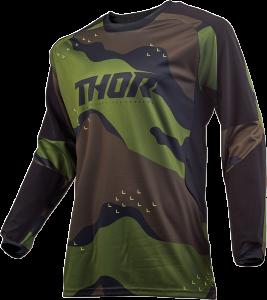 Tricou Thor Terrain Gear Green Camo