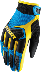 Mănuși Thor Spectrum Blue/Black/Yellow