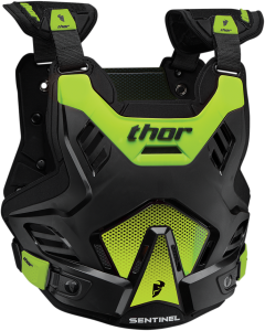 Armură Thor Sentinel GP Black/Flo Green