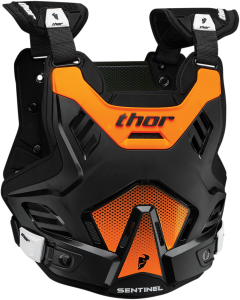 Armură Thor Sentinel GP Black/Flo Orange