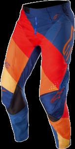Pantaloni Alpinestar Techstar Venom Dark Blue Red Tangerine